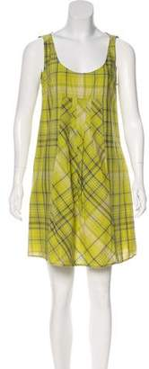 Max & Co. MAX&Co. Plaid Mini Dress