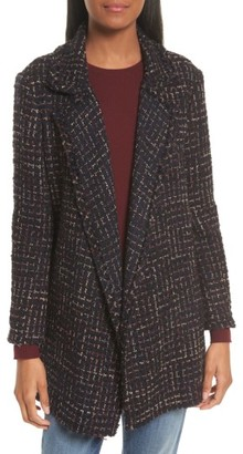 Women's Theory Clairene Rb Tweed Boucle Coat $495 thestylecure.com