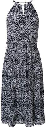 MICHAEL Michael Kors printed halter dress