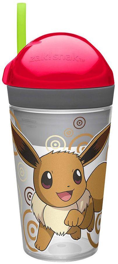 Zak designs Pokémon Eevee Zak!Snak Snack Cup by Zak Designs