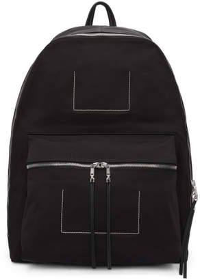 Rick Owens Black Mega Backpack