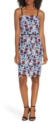 Adelyn Rae Harlow Lace Sheath Dress