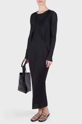 Issey Miyake Basic Sleeveless Maxi Dress