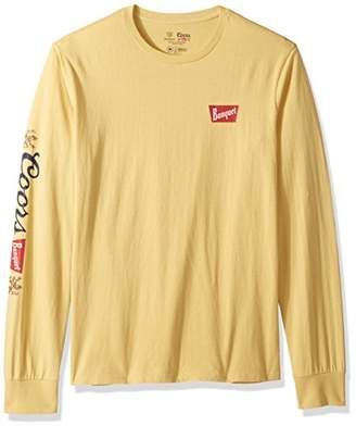 Brixton Men's Coors Primary Long Sleeve Premium Tee Shirt
