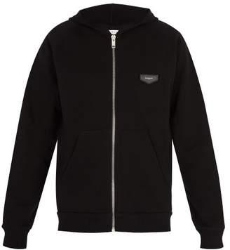 Givenchy Antigona Patch Hooded Sweatshirt - Mens - Black