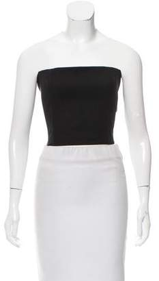 Rosetta Getty Strapless Crop Top w/ Tags