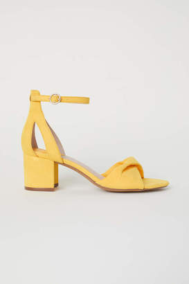 H&M Sandals - Yellow - Women