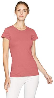 LAmade Women's Basic Short Sleeve Crew Neck Tee