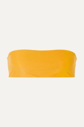 JADE SWIM All Around Bandeau Bikini Top - Mustard
