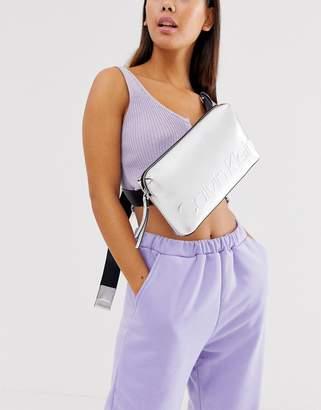 Calvin Klein Jeans Calvin Klein metallic tote bag