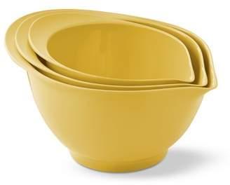 Williams-Sonoma Williams Sonoma Melamine Pour Spout Mixing Bowls, Set of 3, Yellow