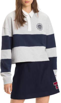 Tommy Jeans NEW Tjw Stripe Hoodie DW0DW05105002 Grey