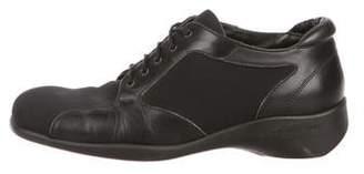 Donald J Pliner Leather Low-Top Sneakers