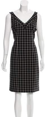 MICHAEL Michael Kors Plaid Knee-Length Dress