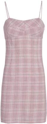 Intermix Roslyn Plaid Mini Dress