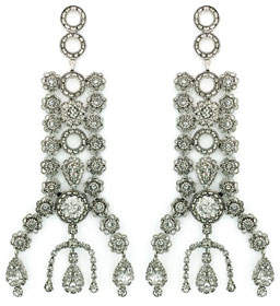 DYLANLEX Dakota Crystal Drop Earrings