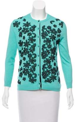 Oscar de la Renta 2016 Wool & Silk Cardigan Set