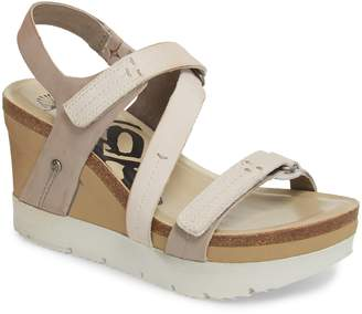 OTBT Wavey Wedge Sandal