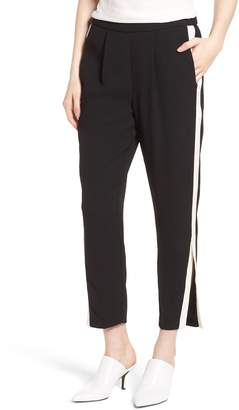 Habitual Ria Side Stripe Ankle Track Pants