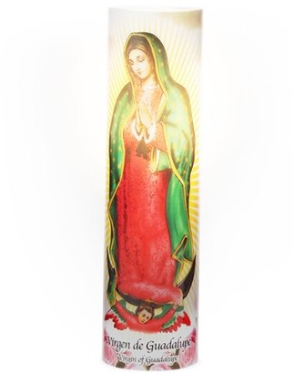 Inspirational Candles & Accessories LED Prayer Candle, Virgin of Guadalupe