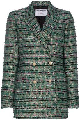 N. Duo double-breasted tweed blazer