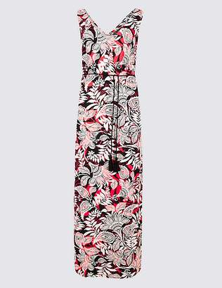 Marks and Spencer Paisley Print Slip Maxi Dress