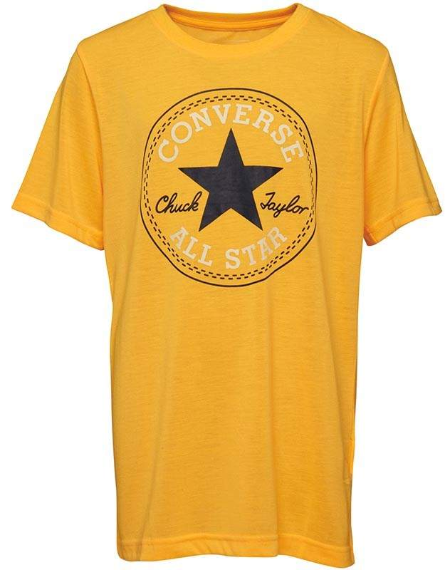 Boys Chuck Patch T-Shirt Laser Orange
