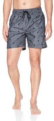 Kanu Surf Men's Flamingos Quick Dry Beach Volley Swim Trunk