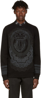 Givenchy Black Money Pullover $835 thestylecure.com