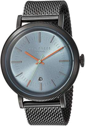 Ted Baker Men's 'Connor' Quartz Stainless-Steel-Plated Casual Watch