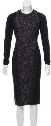 Donna Karan Long Sleeve Midi Dress w/ Tags