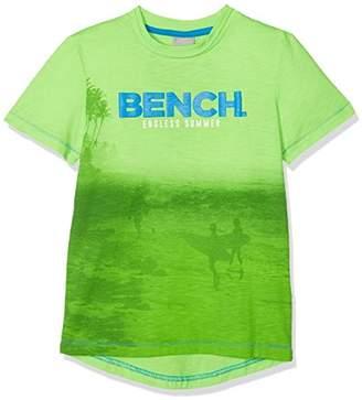 Bench Boy's Beach Surf Tee T-Shirt, (Green Gecko Gr11500), (Size: 13-14)