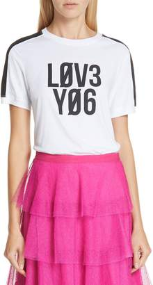 RED Valentino Love You Tee