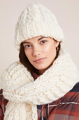 Granny's Finest Rita Cable Knit Wool Beanie