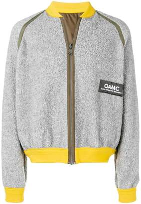 Oamc loose fitted bomber jacket