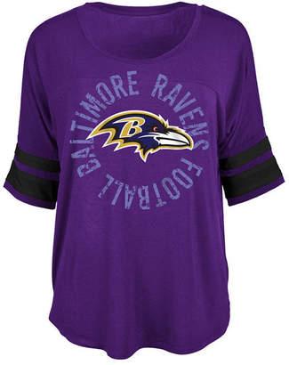 5th & Ocean Women Baltimore Ravens Circle Logo T-Shirt