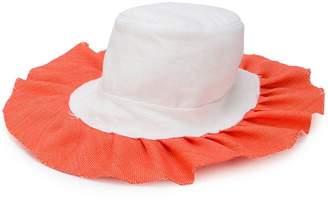 Bernstock Speirs frilled sun hat