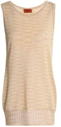 Missoni Crochet-Knit Cotton Top