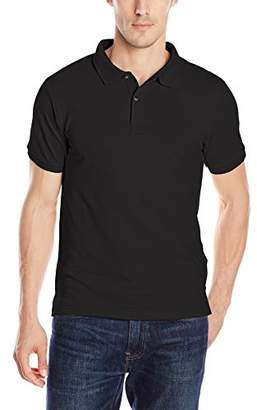 Izod Uniform Young Men's Short Sleeve Pique Polo