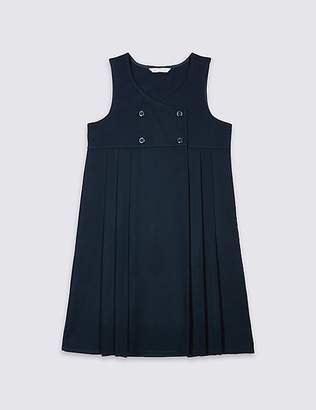 Marks and Spencer Girls' Pinafore with Permanent Pleats