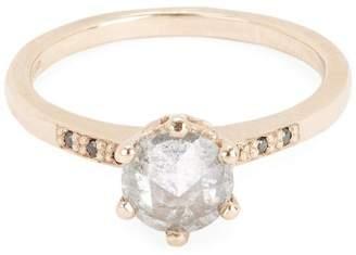 Black Diamond Anna Sheffield Rose Gold Hazeline Grey and Ring
