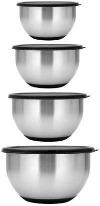 Berghoff Essentials Collection Geminis Stainless Steel 8-Pc. Mixing Bowl Set