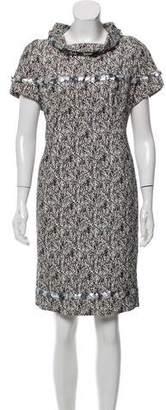 Chanel Embellished Knee-Length Dress