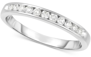 Chanel Hearts.Arrows.Together Diamond Set Band (1/5 ct. t.w.) in 14k White Gold