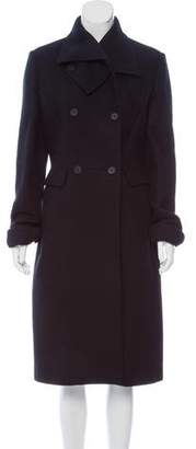 Bottega Veneta Wool-Cashmere Double-Breasted Coat w/ Tags