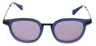 Jonathan Saunders Reflective Orson Sunglasses w/ Tags