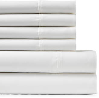 +Hotel by K-bros&Co Hotel 6-Piece Cotton Rich Sateen Queen Sheet Set