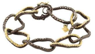 Armenta Diamond Midnight Twisted Link Bracelet