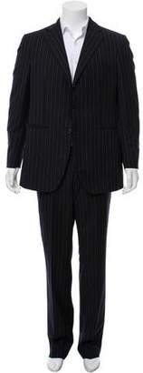 Boglioli Pinstriped Two-Piece Suit