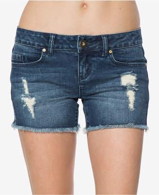 O'Neill Juniors' Scout Ripped Denim Shorts
